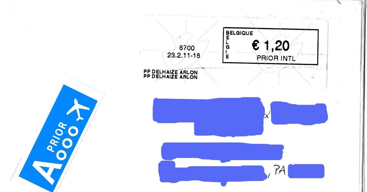 pr sentation de quelques timbres et lettres lettre de belgique aux usa en prior international. Black Bedroom Furniture Sets. Home Design Ideas