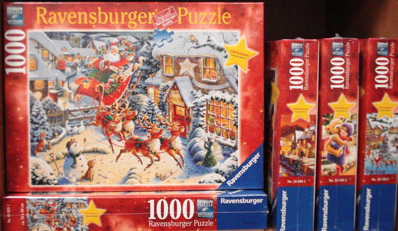 ravensburger christmas puzzle - Ravensburger Christmas Puzzles