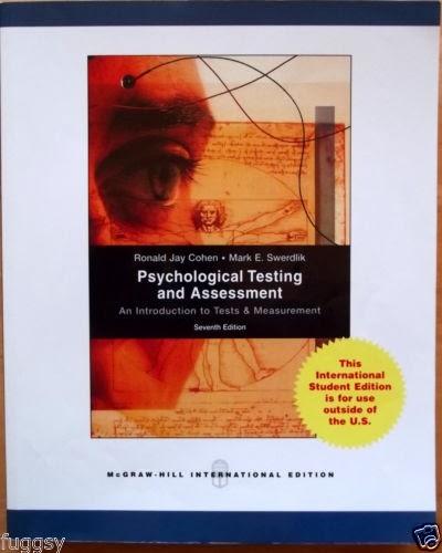 psychological testing and measurement pdf