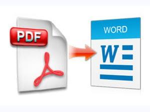 Chuyển file PDF sang định dạng Word để dễ dàng chỉnh sửa nội dung