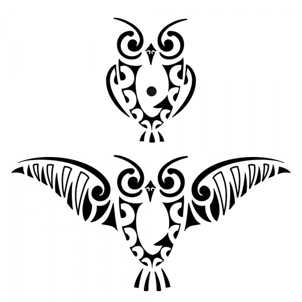 flash tribal tattoo Tribal Tattoo Owl Trend Styles: Tattoos