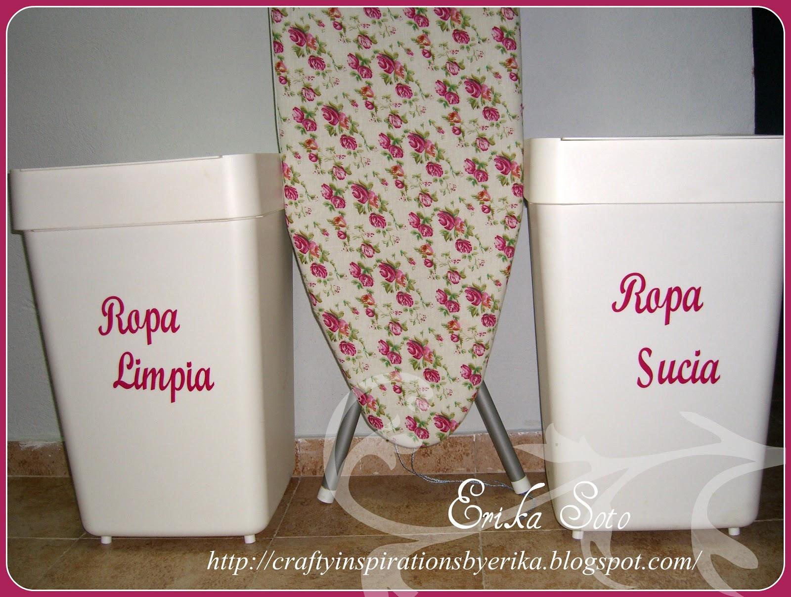 Cubos de la ropa sucia y ropa limpia artes laura - Cubos para la ropa sucia ...