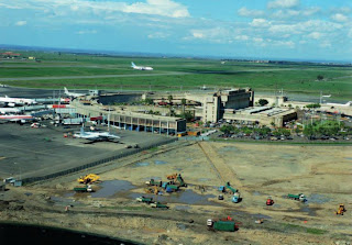 JKIA Airport Before Terminal 's Construction
