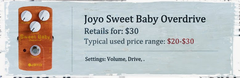 Joyo JF-36 Sweet Baby Low-Gain Overdrive