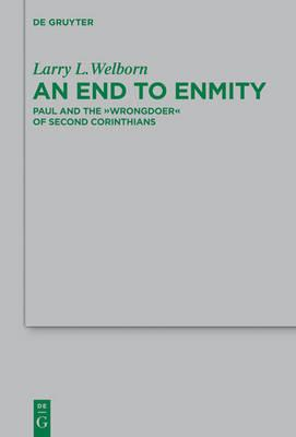 an end to enmity welborn l l