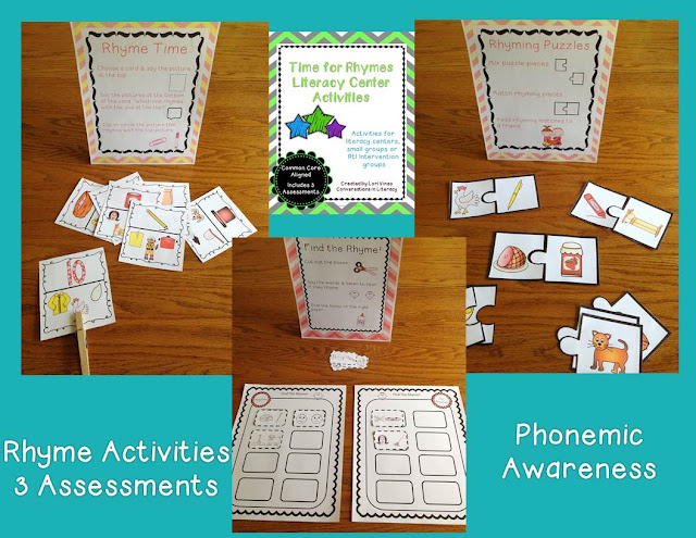 rhyming activities and assessments