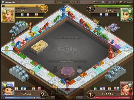 Download Game Monopoly Online Modoo Marble - Lintas Informatika