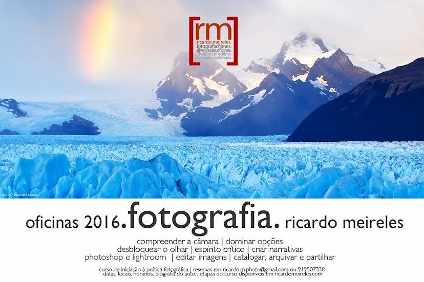 Oficinas de fotografia de Ricardo Meireles