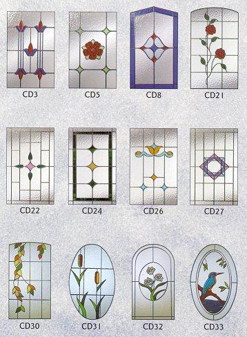 Cristales para puertas portones puertas de madera - Cristales decorados para puertas ...