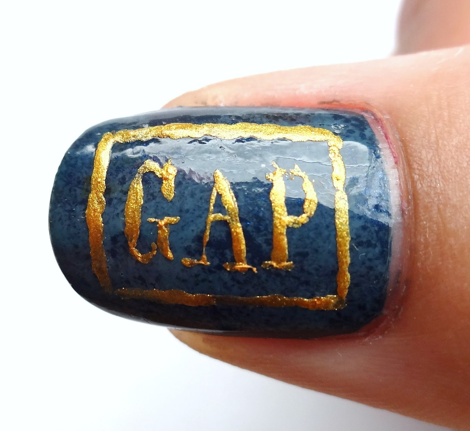 Gap Logo on Thumb