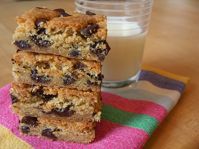 Dinners for a Year and Beyond: Dark Chocolate Chip Butterscotch Bars
