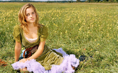 Emma Watson en Primavera
