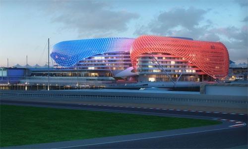 New architecture design city new architecture design city for Asymptote architecture yas hotel