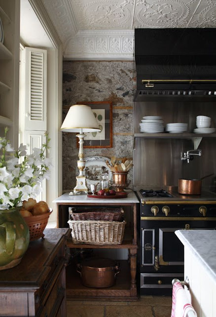 ... See In A Kitchen Is A Table Lamp! It Is An Unexpected Element That  Brings A Layer Of Warmth And Home To An Otherwise Possibly Sterile Area Of  The House.