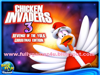 Download Free ChickenInvaders 3 Xmas game