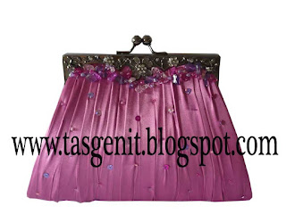 tas pesta behel clutch bag murah