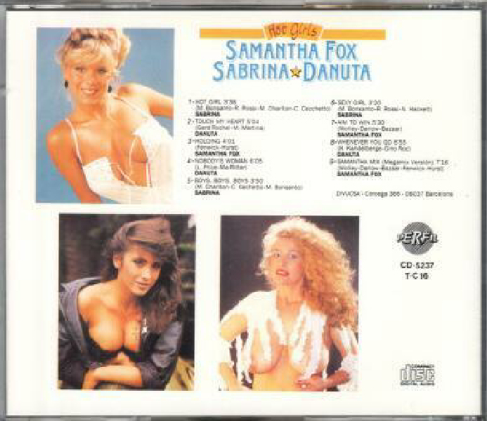 VA - Hot Girls (Samantha Fox & Sabrina & Danuta)