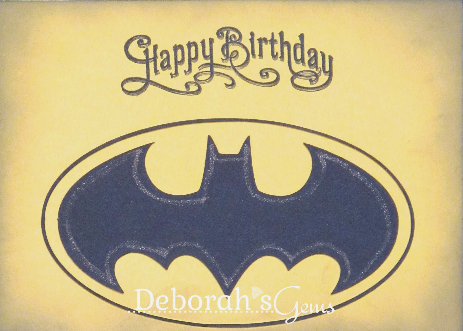 Batman Birthday - photo by Deborah Frings - Deborah's Gems