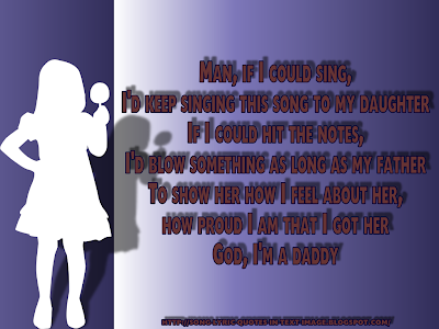 Hailie's Song - Eminem Song Lyric Quote in Text Image