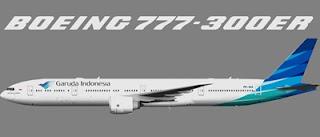 GARUDA INDONESIA LUNCURKAN BOEING 777-300ER