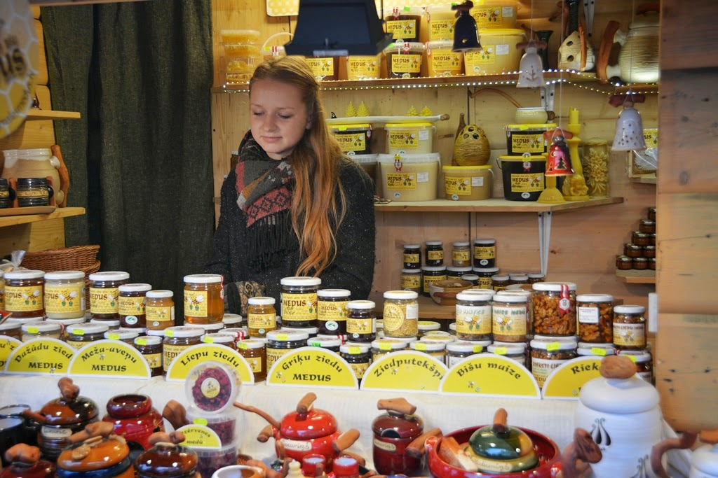 Christmas Market Riga honey