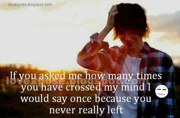 you crossed my mind quotes wallpaper