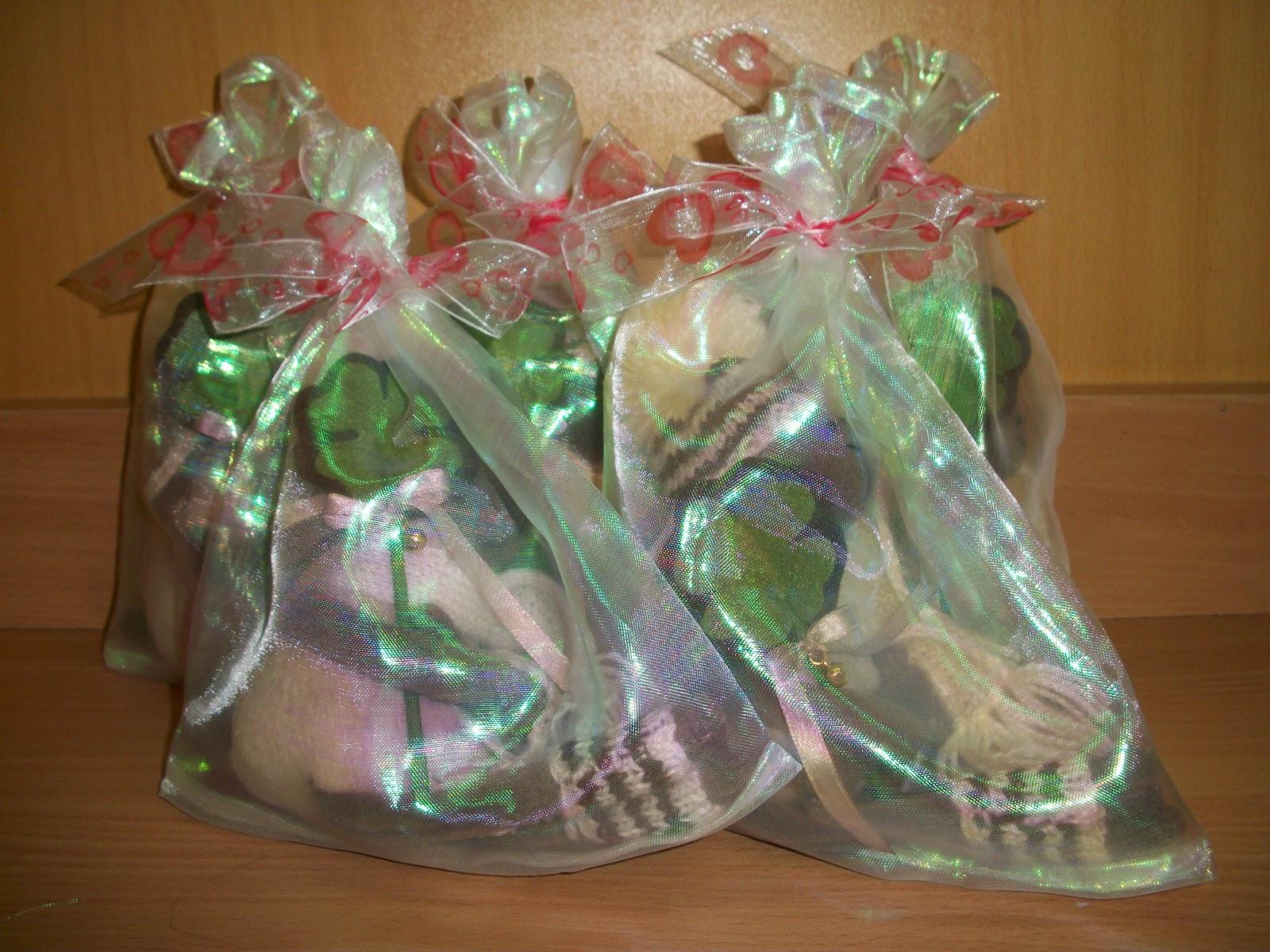 мешочки из органзы для упаковки игрушек