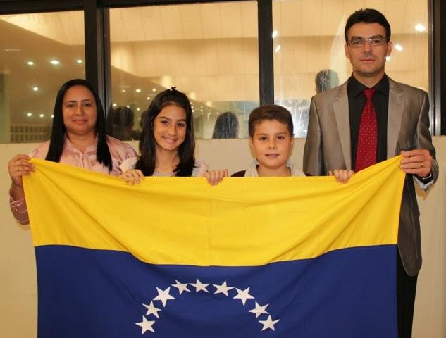 BARQUISIMETO NA VENEZUELA RECEBERA FAMILIA DE MISSIONARIOS DE MOSSORÓ RN