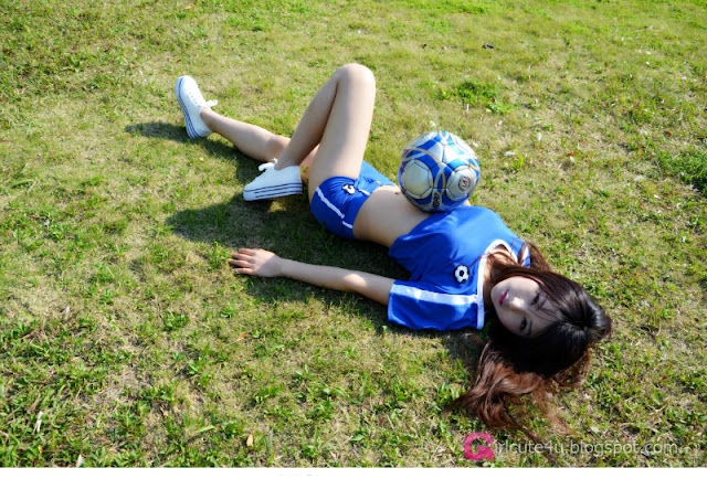 5 Football Baby-Very cute asian girl - girlcute4u.blogspot.com