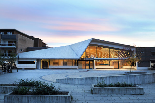 Biblioteca Centro Cultural Vennesla exteriores
