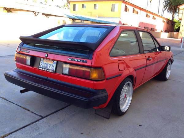 1986 Volkswagen Scirocco MKII | Auto Restorationice