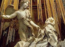 Hay amores místicos. Extasis de Santa Teresa, Bernini