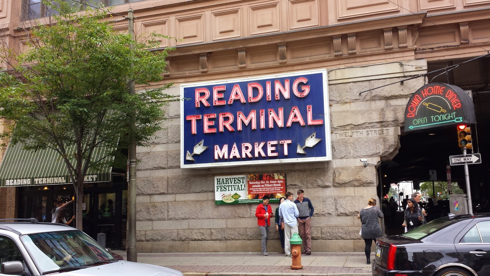 kitchen clatter: two sisters, a saturdayand the reading terminal