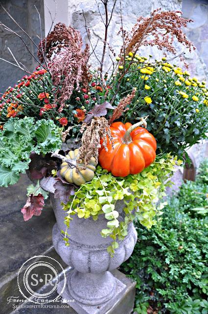 Serendipity Refined Blog Abundant Harvest Fall Urn