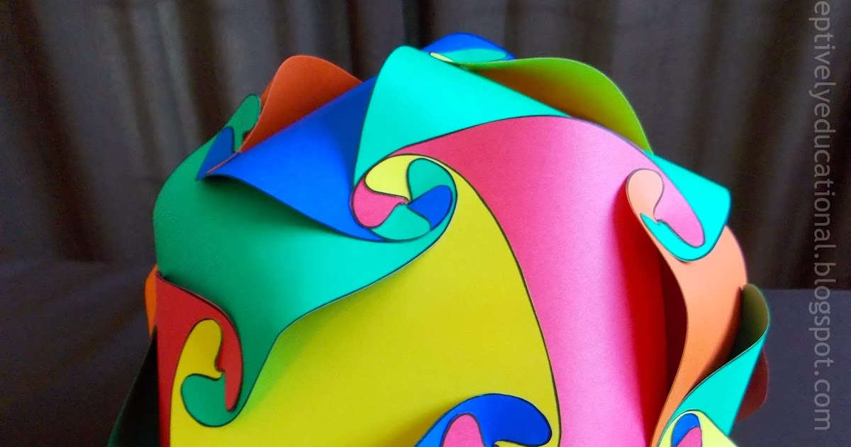 Relentlessly Fun, Deceptively Educational: Paper Polyhedron