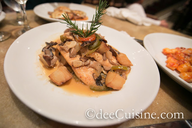 Chicken Scarpariello at Quattro Pazzi in Stamford, CT