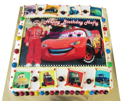 Birthday Cake Edible Image Disney CarsAi-sha Puchong Jaya