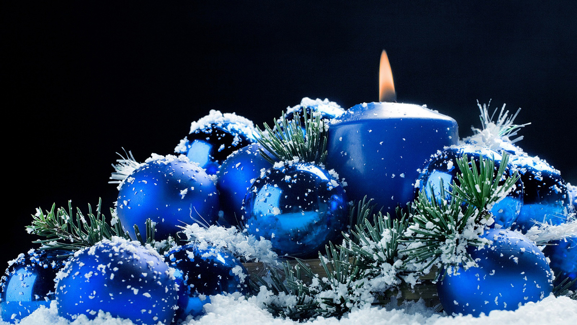 christmas candle lights hd