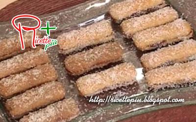 Biscotti Golosi (Pavesini Nutella e Cocco) di Tessa Gelisio