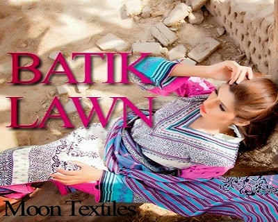 Batik Lawn Summer Dresses by Moon Textiles