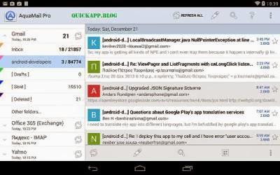 aqua mail pro apk download