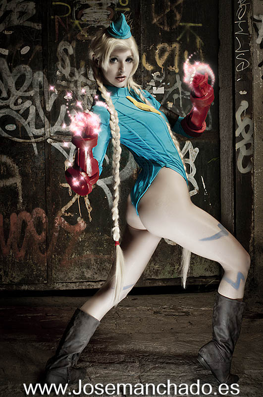 IvyCosplay ^0^: Photoshoot Street Fighter (Cammy) by Jose