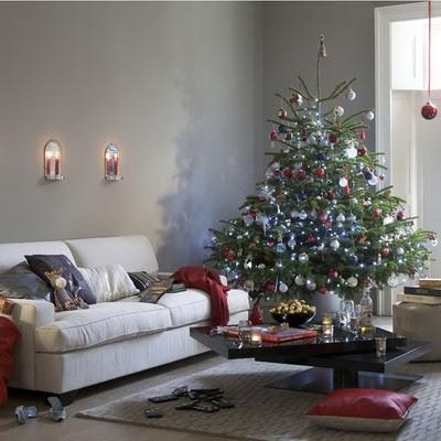 Decoraciones navide as de ensue o elegantes rboles de for Decoracion navidena elegante