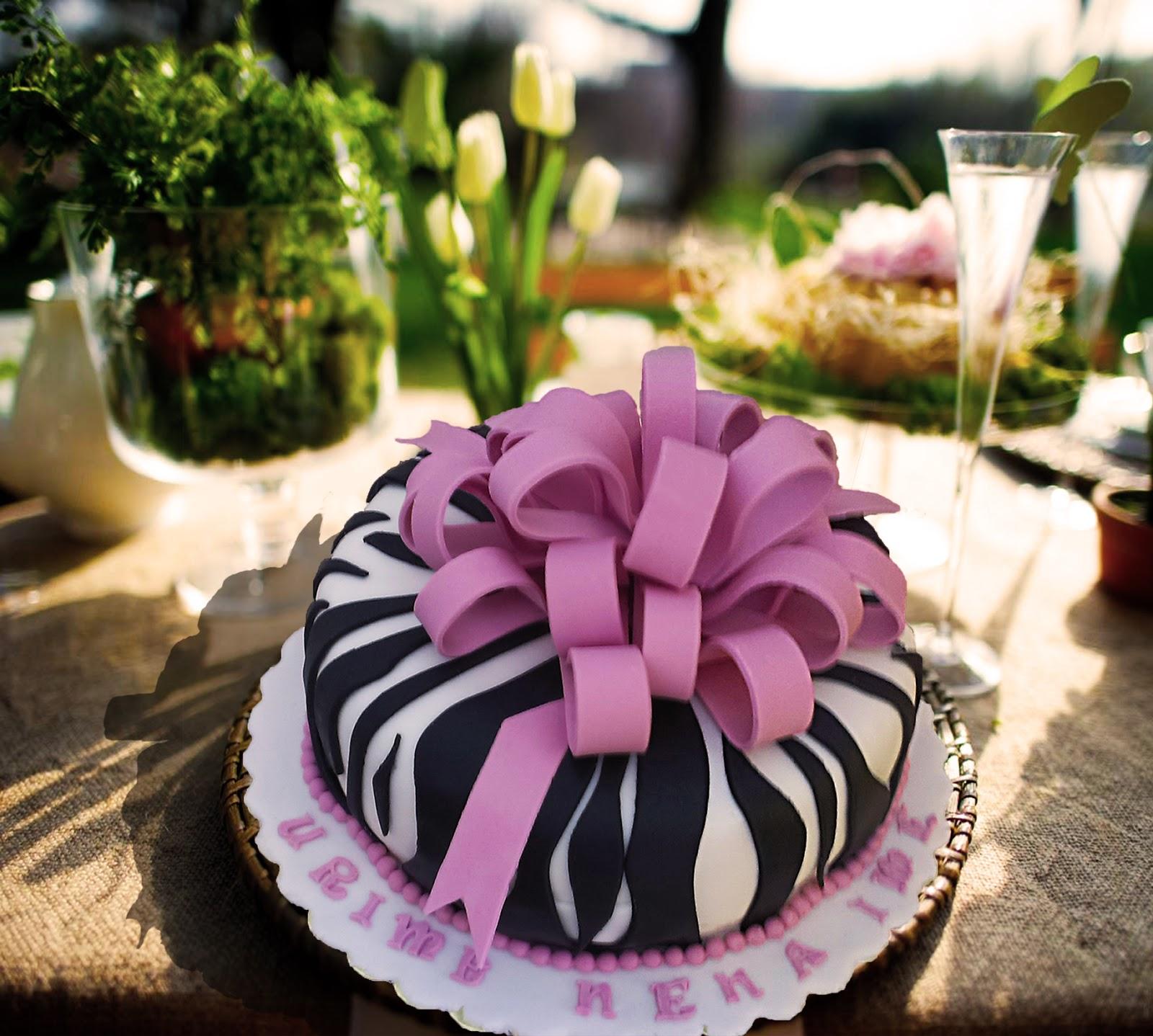 Cake Sensation Elegant Birthday Cake Design