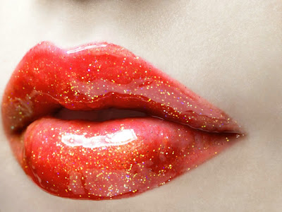 Cool Red Lips Wallpapers