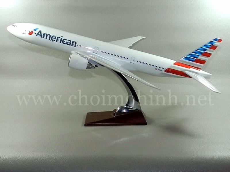 Mô hình máy bay dân dụng American Airlines Boeing 777