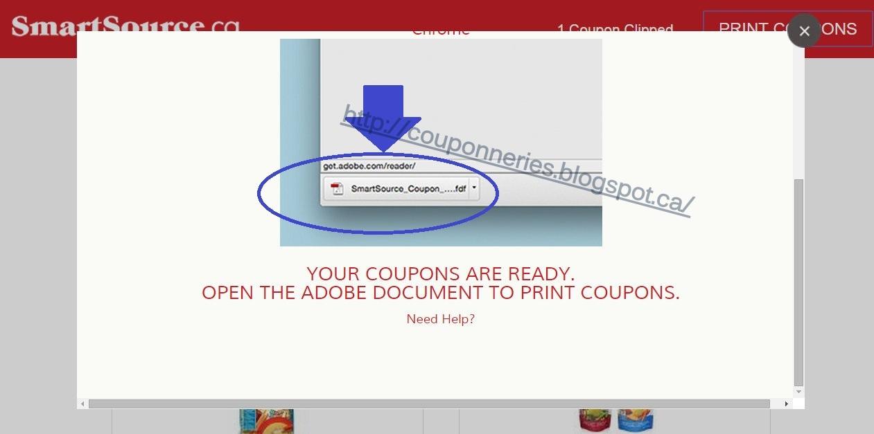 Coupons et circulaires imprimer sur smart source et pg for Ouvrir un lien dans une nouvelle fenetre html