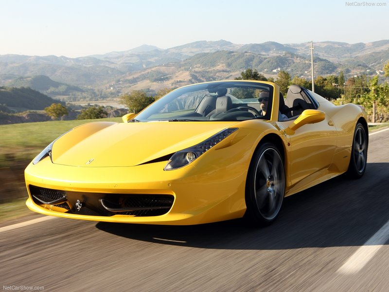 2013 New Ferrari 458 Spider