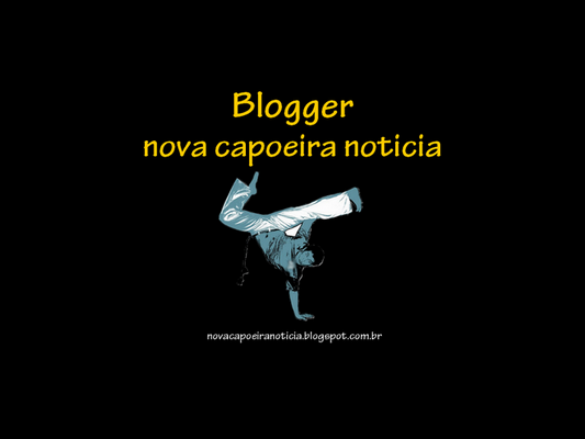 Nova capoeira noticia