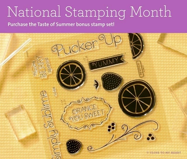 May Special: Taste of Summer stamp set